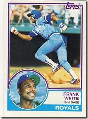 Frank White Topps 83