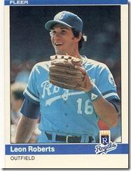 Leon Roberts Fleer 84