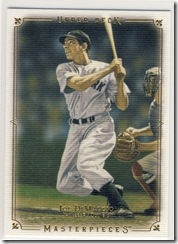 Baseball Masterpieces Joe D.