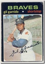 Topps 71 Gil Garrido