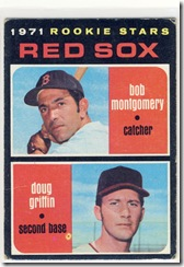 Topps 71 Redsox Rookies