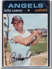 Topps 71 Billy Cowan