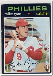 Topps 71 Mike Ryan