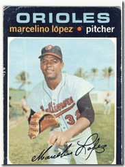 Topps 71 Marcelino Lopez