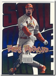 Skybox Soul of the Game Mark McGwire