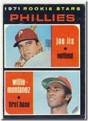 1971 138 Phillies Rookies