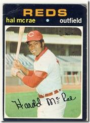 1971 177 Hal McRae