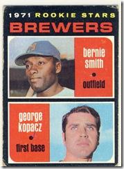 1971 204 Brewers Rookies