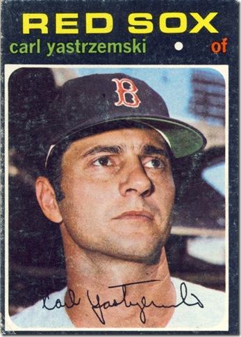 1971 530 Carl Yastrzemski