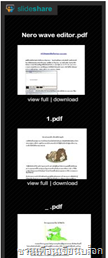 slideshare widget in blogspot