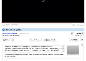 การอัพโหลดวีดีโอใน youtube
