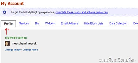 หา backlink จาก mybloglog