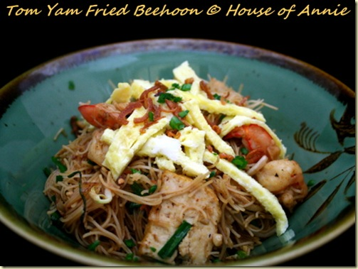 Tom Yam Fried Beehoon