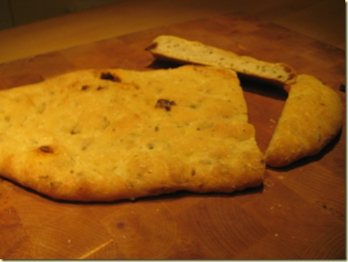 sun-dried tomato and herb foccacia - urban food producer