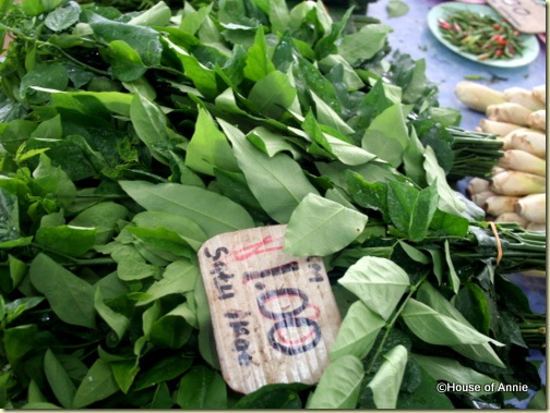 cangkuk manis for sale at stutong market