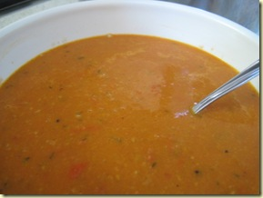 the claytons blog tomato soup