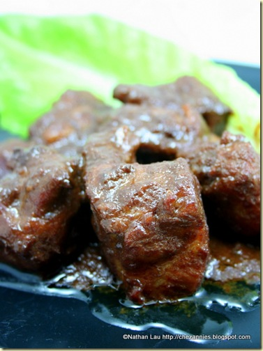 Pork Riblets Braised with Fermented Bean Curd