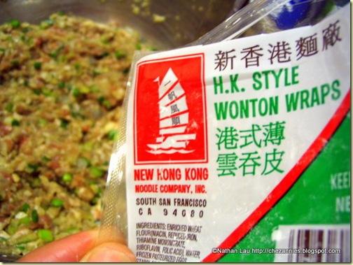Hong Kong Style Wonton Wraps