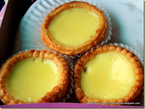 Egg Tarts From Golden Gate Bakery in San Francisco