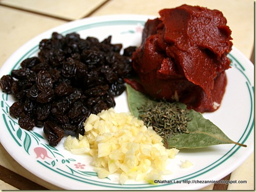 Seasonings for Braised Oxtail in Red Wine Recipe
