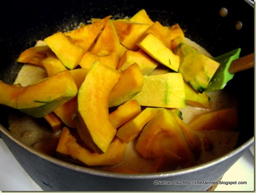 Kabocha Squash  in Coconut Milk