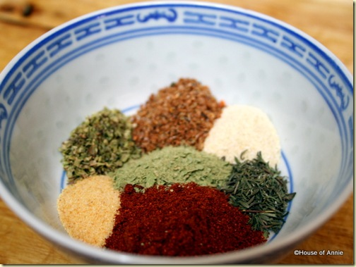 Mediterranean Rib Rub