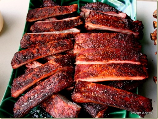 The Winner: Smoked Ribs