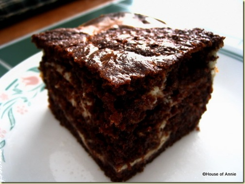 Marble Cream Cheese Cake