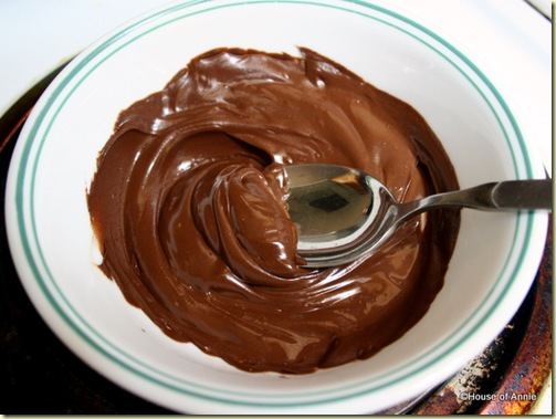Smooth, Melted Chocolate