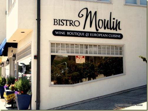 Bistro Moulin, Monterey