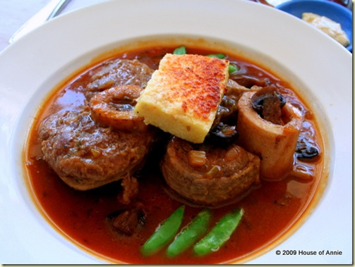 Osso Bucco from Bistro Moulin