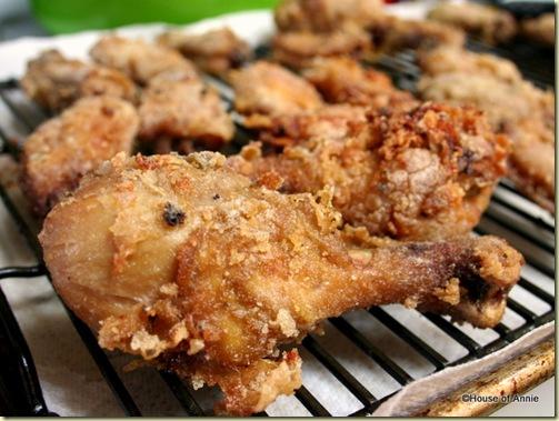 Thai Fried Chicken Wings