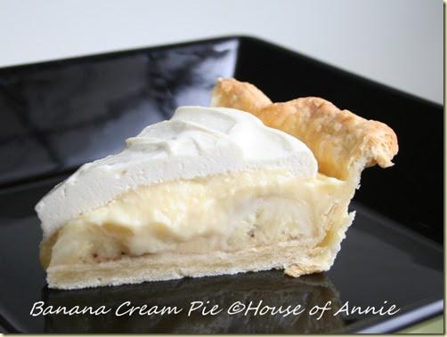 Recipe for Banana Cream Pie   House of Annie
