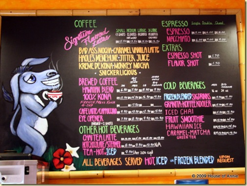 bad ass coffee company menu tropicana city kuala lumpur