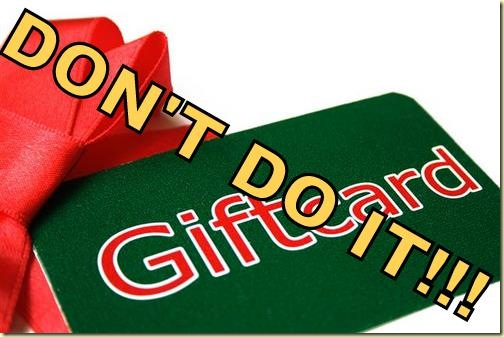 gift card with wrapping