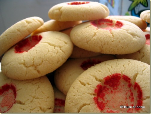 Chinese Almond Cookies Ready to Eat