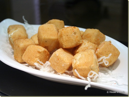 deep fried tofu at noble house singapore