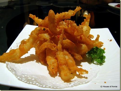 deep fried silverfish