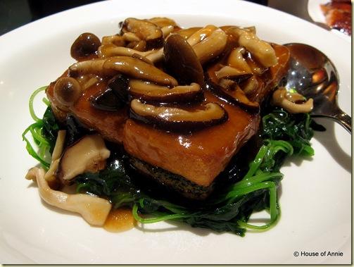 imperial treasure spinach tofu