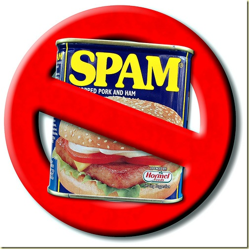 no spam logo by david hegarty