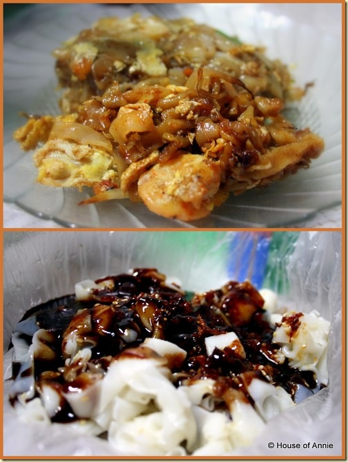 char kway teow   chee cheong fun from seng hin cafe island glades penang