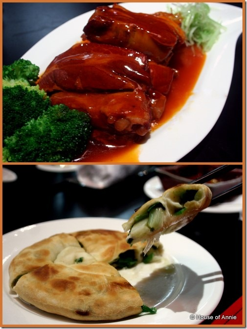 Novotel Hotel Taipei Taoyuan Chinese Restaurant braised pork ribs and green onion pancake