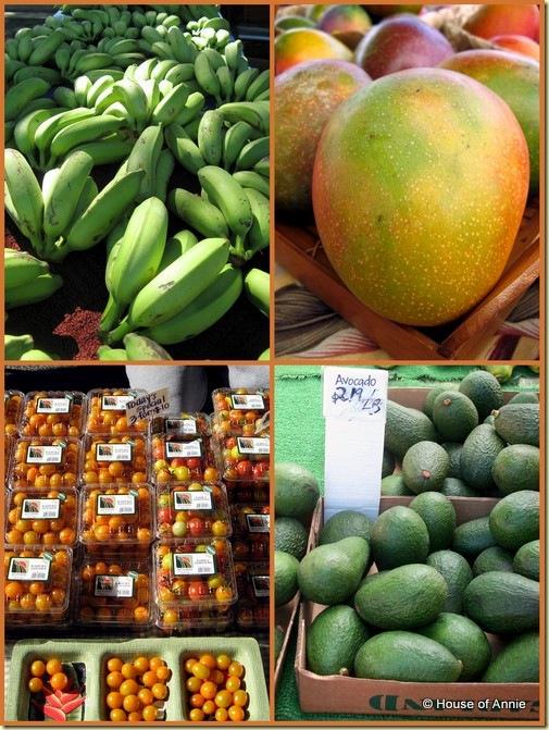 KCC Farmers Market fruits bananas mangoes tomatoes avocadoes