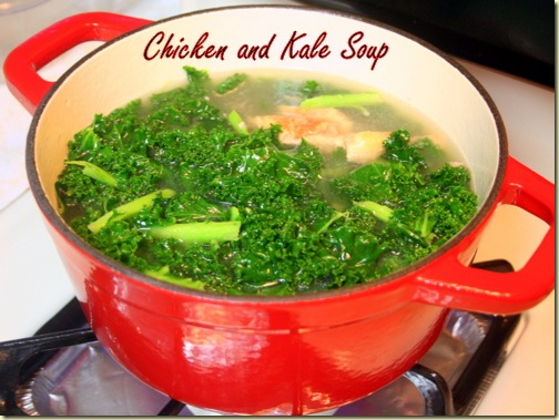 Chicken and Kale Soup 1
