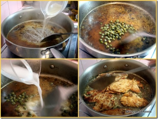 deglazing thickening sauce for chicken piccata