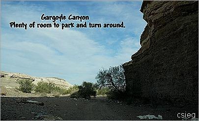 Gargoyle Canyon  Entrance 52
