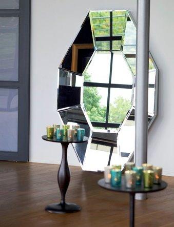 Miroirs mobilier canape deco - Astuce deco pour agrandir une piece ...