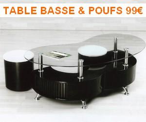 table basse S petit prix