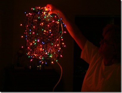 next post well cover securing your ball to the extension cord and how to hang em high in your trees - Christmas Light Ball