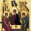 Троица Ветхозаветная. Середина XVI в., Музей А.Рублёва.jpg